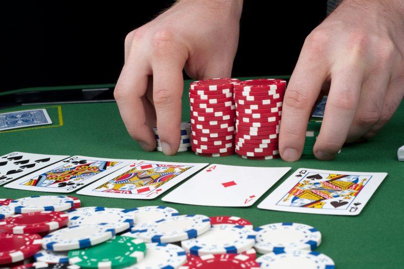 استراتيجية لعبة البوكر - 85371