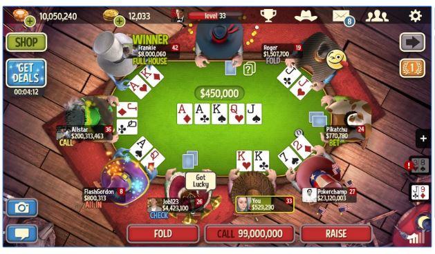 لعبة الطاولة - 70361